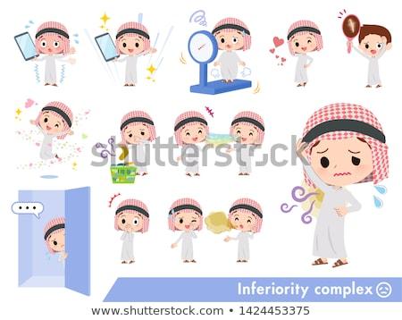 Arab boy_complex Stock photo © toyotoyo