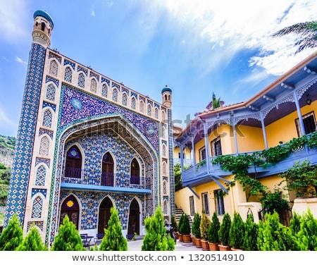 Torre mesquita Geórgia ver cidade velha cidade Foto stock © boggy