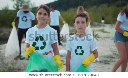 Volunteering Team Caring for Environment  Ecology Stock photo © robuart