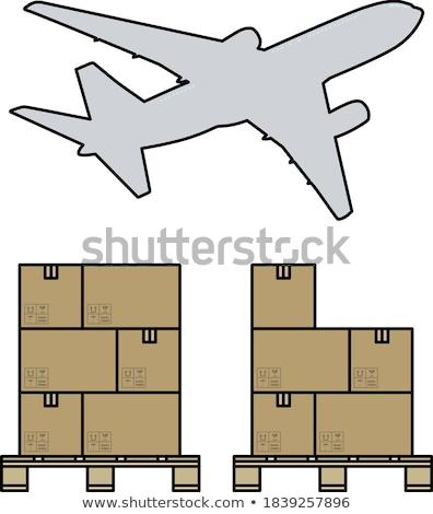 pola · samolot · działalności · mail · statku · przemysłowych - zdjęcia stock © angelp