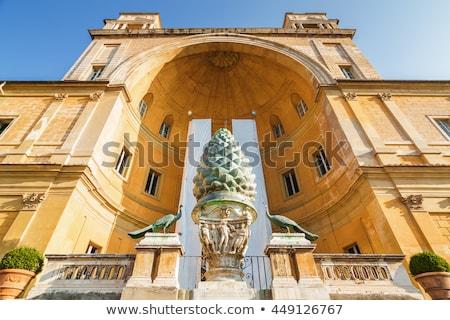 Cortile della Pigna, Vatican Stock photo © borisb17