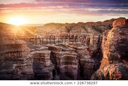 limestone of grand canyon cliffs stock photo © dolgachov