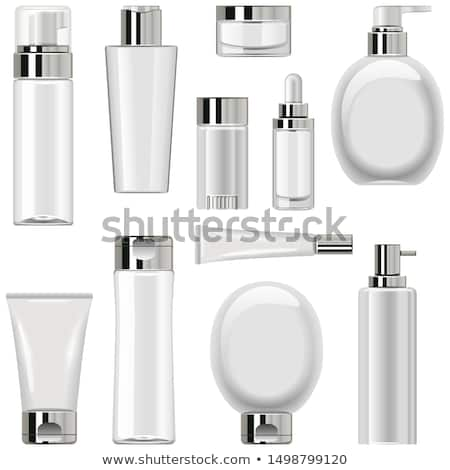 vector unlabeled cosmetic packaging set 2 stock photo © dashadima