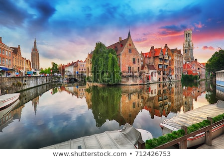 street in Bruges, Belgium Stock photo © borisb17