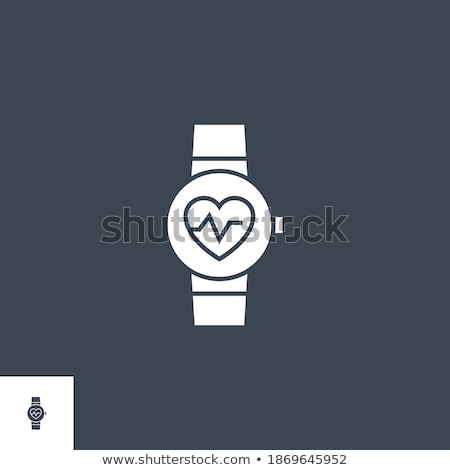 Smart Watch Medical Service related vector glyph icon. Stock photo © smoki