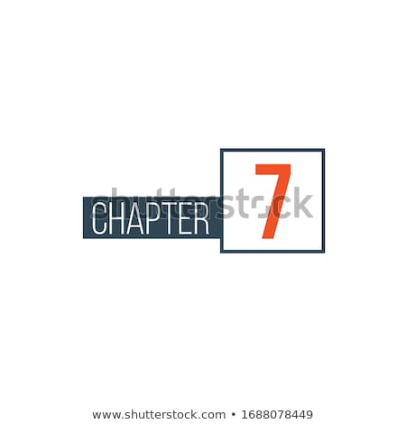 Chapter 3 design template, can be used for books design or tabs. Stock Vector illustration isolated  Stock photo © kyryloff