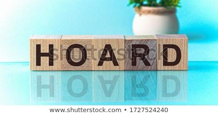 Hoarding Symbol Stock photo © Lightsource