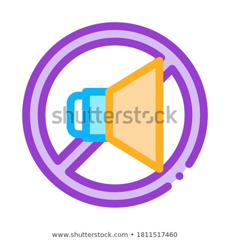 Strikethrough Dynamic Icon Outline Illustration Stock photo © pikepicture