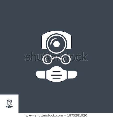 Doctor related vector glyph icon. Stock photo © smoki