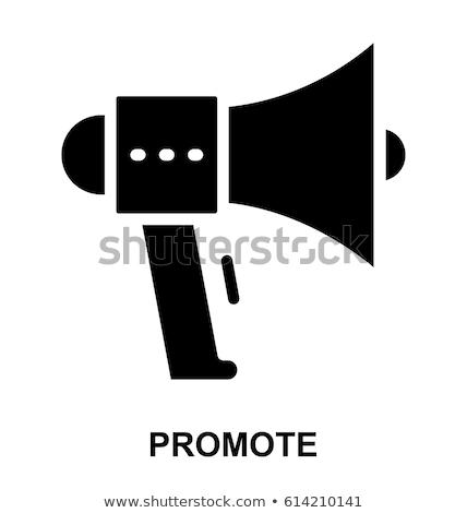 Promozione vettore icona isolato bianco business Foto d'archivio © smoki