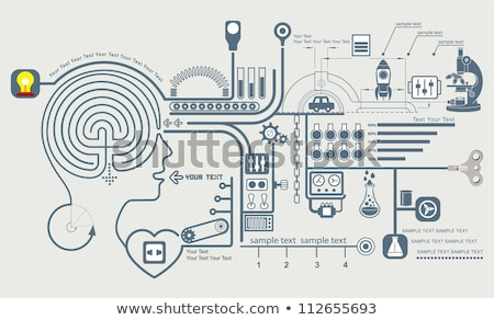 Discipline abstract concept vector illustration. Stock photo © RAStudio