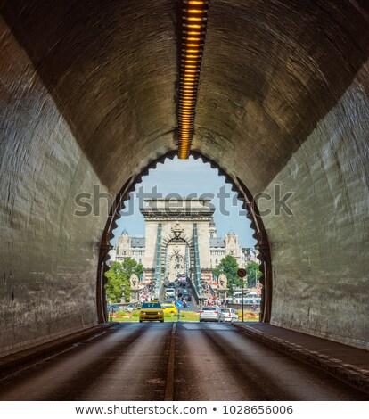 Adam Clark Tunnel in Budapest, Hungary stock photo © vladacanon