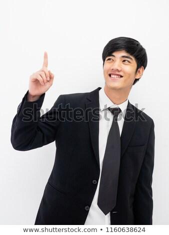 üzletember ötletek izolált fehér emberek üzlet férfi Stock fotó © poco_bw