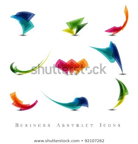 Abstrato colorido estrelas Foto stock © pathakdesigner