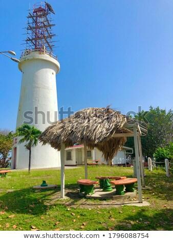 lighthouse, Galera Point, Trinidad Stock photo © phbcz