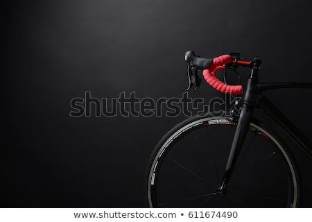 Bicikli út kerék aerodinamikus elöl idő Stock fotó © nicemonkey