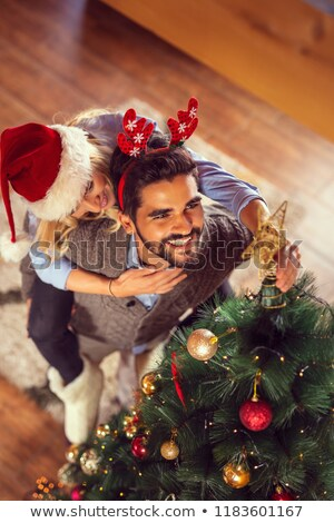 two friends celebrating new home stock photo © photography33