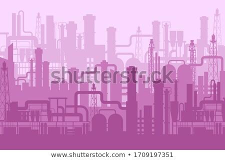 cartoon factory stock photo © blamb