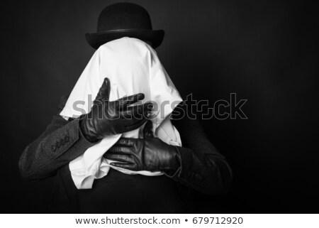 Stranger woman in hat Stock photo © pekour