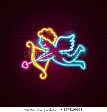 Kalp afiş vektör görüntü içinde Stok fotoğraf © damonshuck