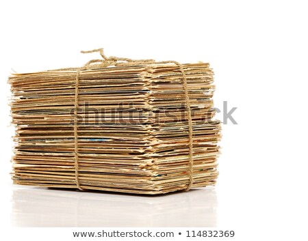 Big pile of old letters and postcards stock photo © inxti