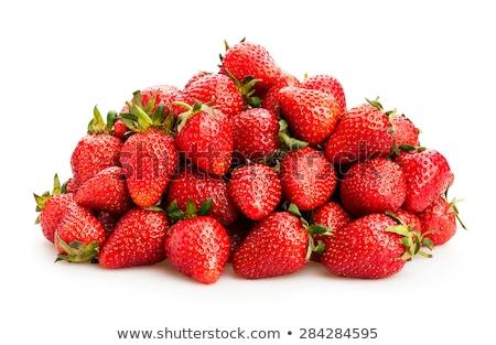 Сток-фото: Pile Of Strawberry