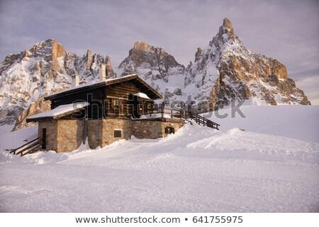 бледный лет мнение горные здании природы Сток-фото © Antonio-S