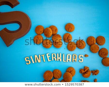 Foto stock: Chocolate Sinterklaas Letter