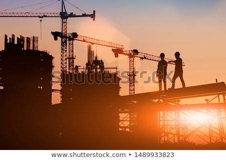 építőipar üzlet építkezés munka háttér munkás Stock fotó © photography33