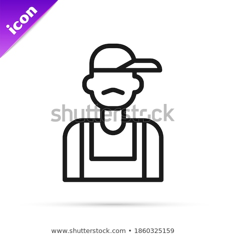 Tradesman holding a plumb line Stock photo © photography33