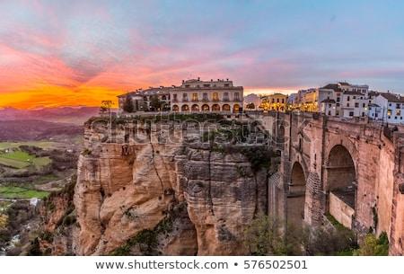 アンダルシア スペイン 風光明媚な 風景 ストックフォト © rognar