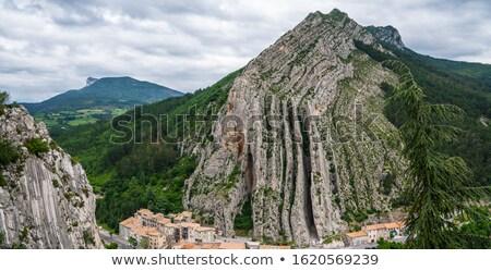 High rocks in the Haute Provence Stock photo © ivonnewierink