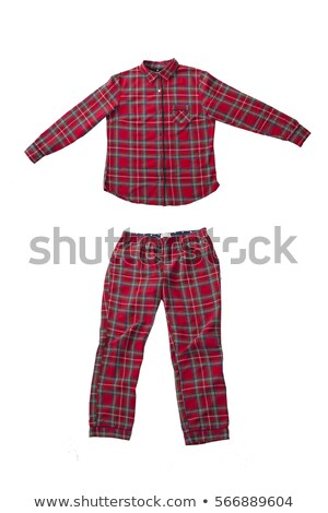 Plaid pajama pants Stock photo © RuslanOmega