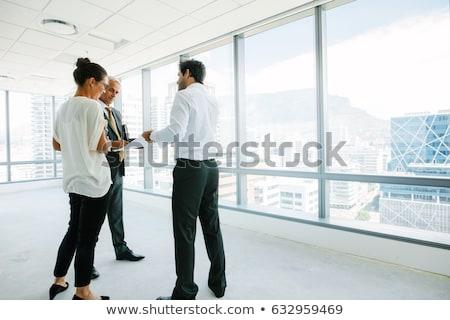 オフィス スペース リース にログイン ペン 背景 ストックフォト © jadthree