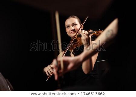 Kettő zenészek barátok férfiak csoport jókedv Stock fotó © photography33