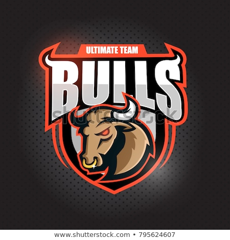 Mascot Bull Vector Graphic Illustration Stock photo © chromaco