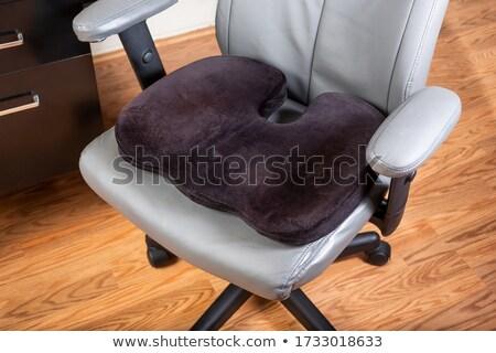 ülés · támogatás · vánkos · szép · terv · párna - stock fotó © johnkasawa