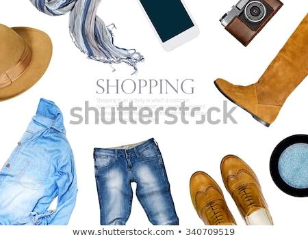Shopping · boutique · amis · mode · femme - photo stock © ssuaphoto