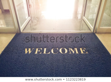 Welcome mat Stock photo © sumners
