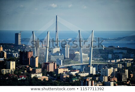 bridge to Russian Island, Stock photo © papa1266