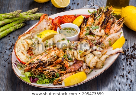 seafood platter Stock photo © M-studio