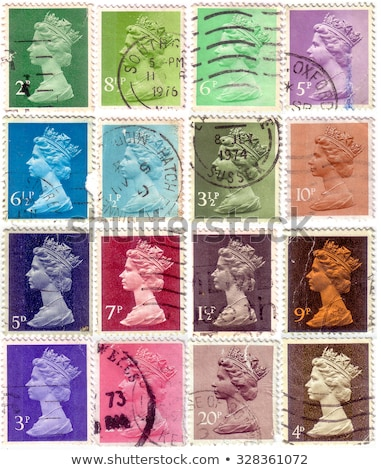 philatelic stamp collection albums Stock photo © artush