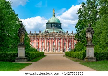 palota · panoráma · Berlin · Németország · fű · épület - stock fotó © spectral