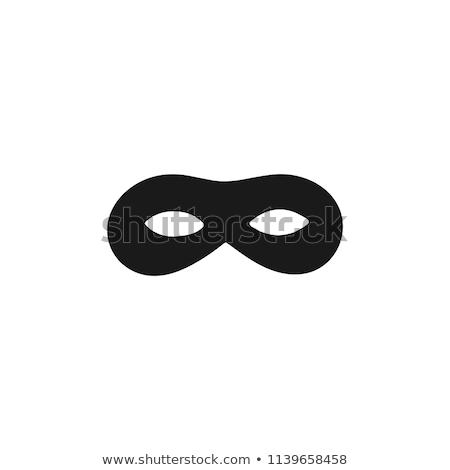 Burglar in black Stock photo © stevanovicigor