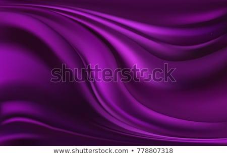 Purple атласных аннотация волны дизайна красоту Сток-фото © liliwhite