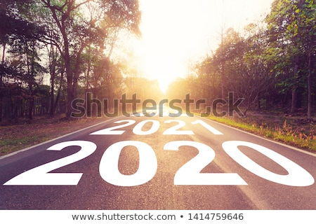 Stock photo: Road to new horizons