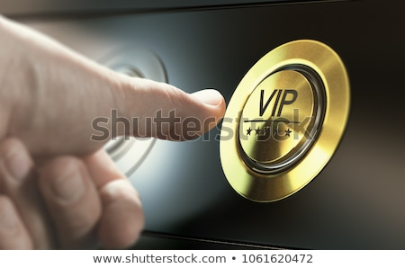 Vip службе символ первый класс стоянки пространстве Сток-фото © Lightsource