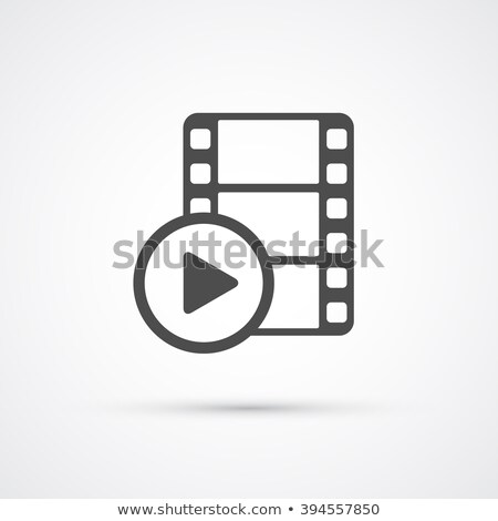 film and media icons and elements stock photo © solarseven