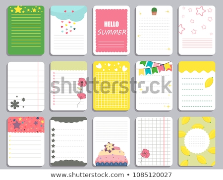 daily note pads stock photo © tab62