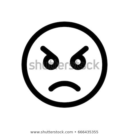 öfkeli · adam · dünya · çığlık · atan - stok fotoğraf © cteconsulting